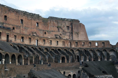 Inside view of colosseo
