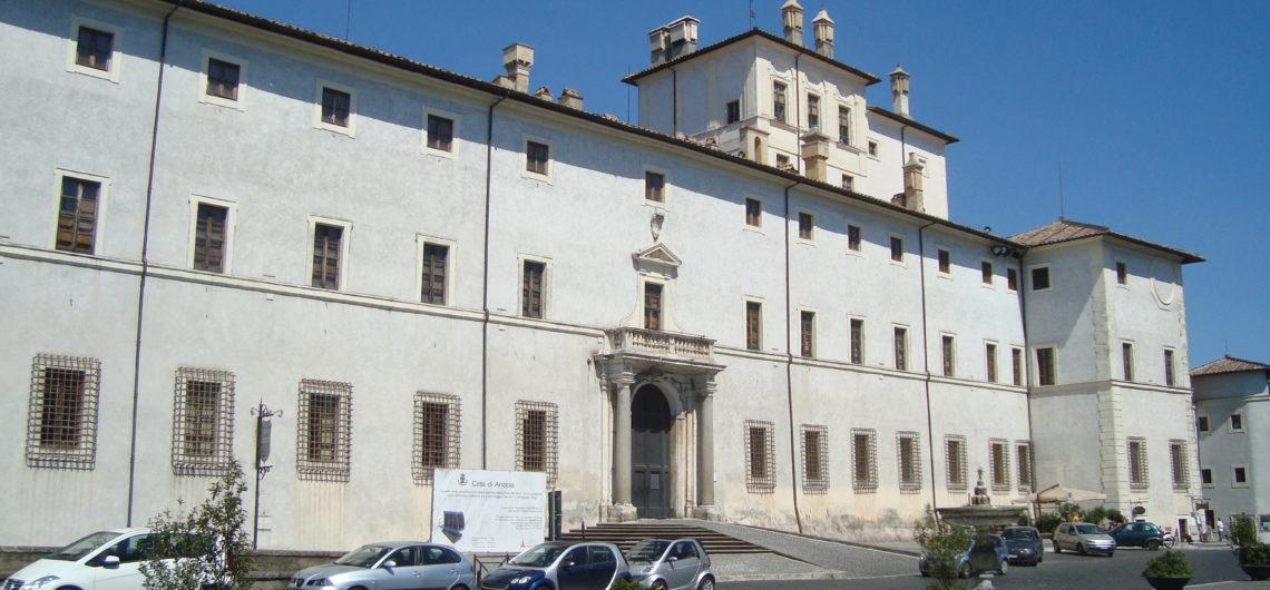 Entrance of Chigi Palace of Ariccia