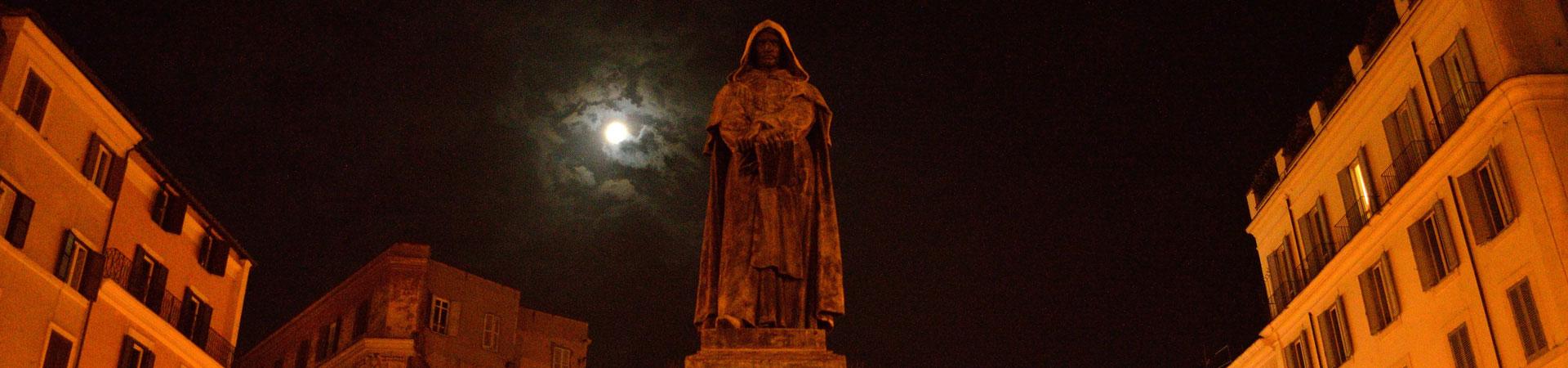 Statue of Giordano Bruno, Campo dei Fiori