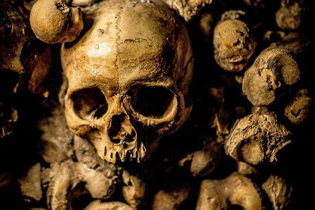 crypts and catacombs of rome