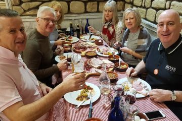 food and wine tour in roman countryside