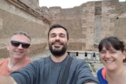 on tour with dmitri ostia antica
