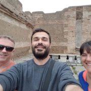on tour with dmitri ostia antica