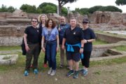 on the tour of ostia antica with dmitri