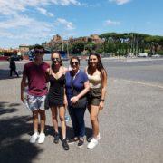 Walking tour of caracalla rome