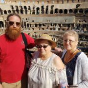 small group walking tour of colosseum