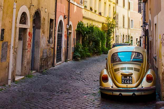 walking tour of jewish ghetto & trastevere