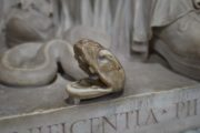 cool snake in vatican museums