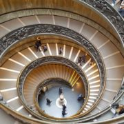 amazing stairs at the vatican