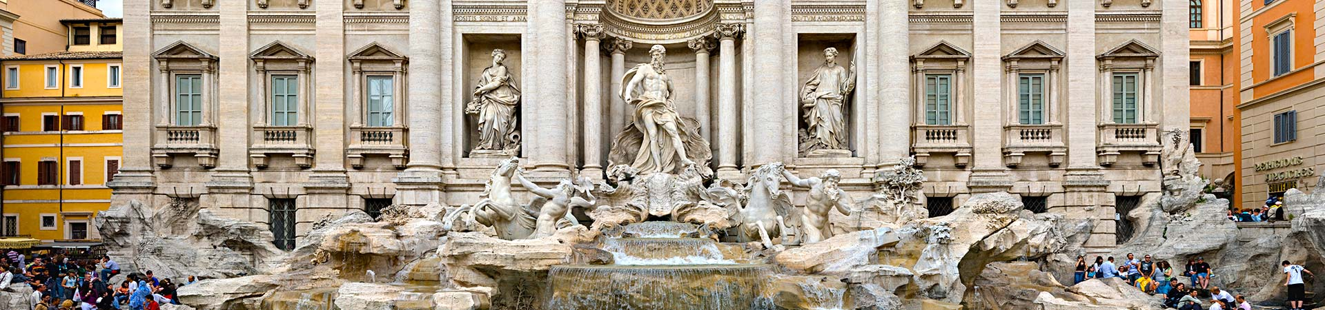 trevi fountain, must see rome tour