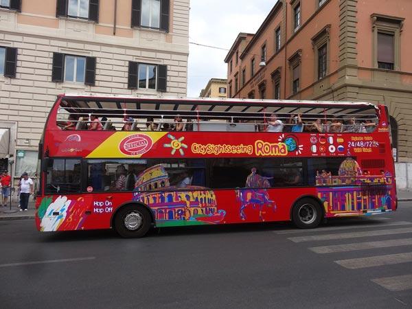 hop on hop off rome