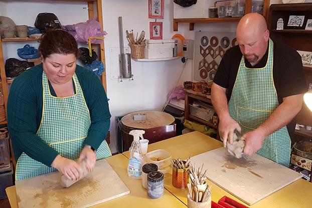 pottery workshop in trastevere