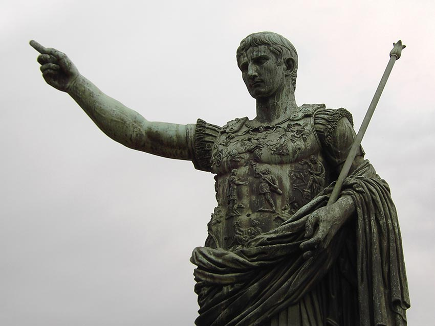octavian the emperor, ides of march