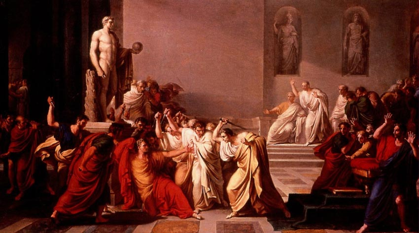 ides of march assassination of julius caesar