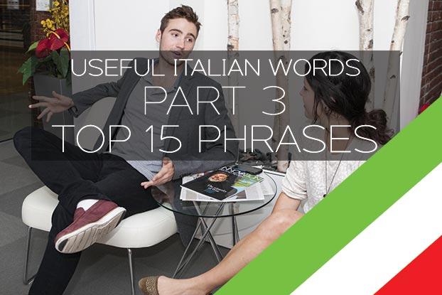 top 15 useful italian phrases