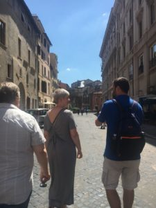 Jewish Ghetto, Piazza delle cinque scole