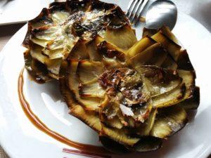 deep fried artichokes, giudia artichokes, giudea artichokes