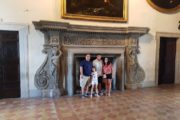 Huge fireplace, chigi palace ariccia