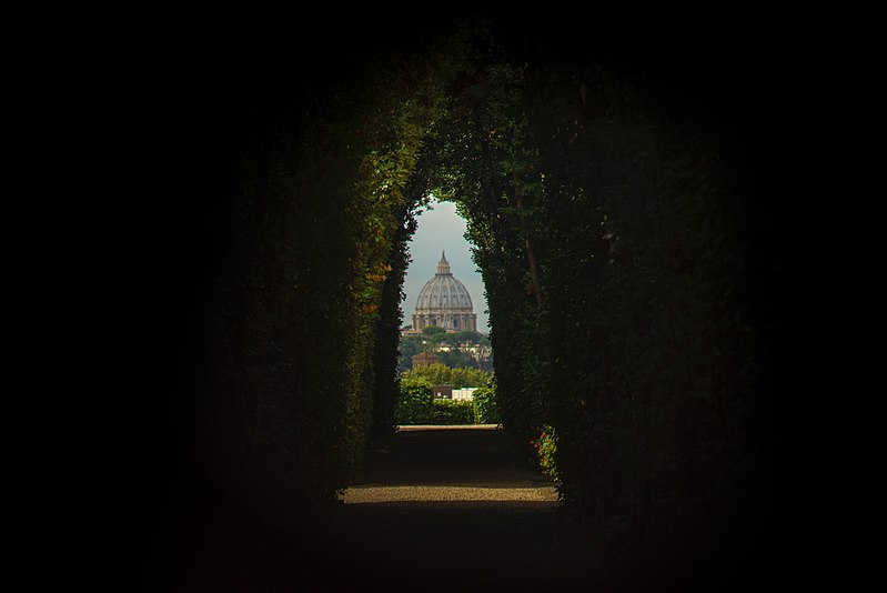 keyhole view order of malta