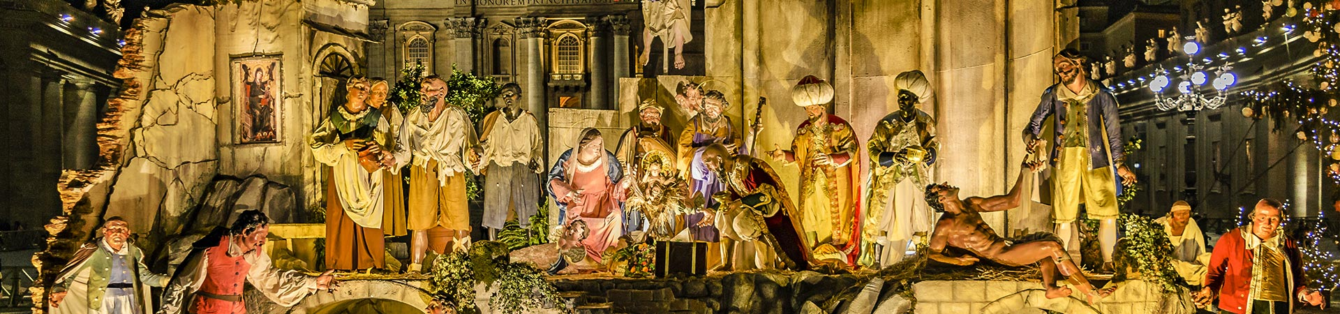 christmas in rome walking tour