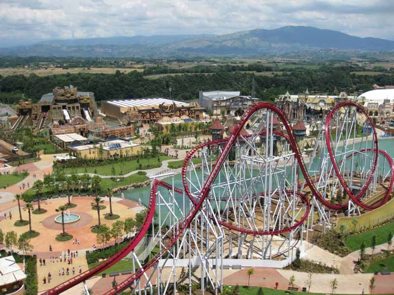 magicland rome amusement and theme park