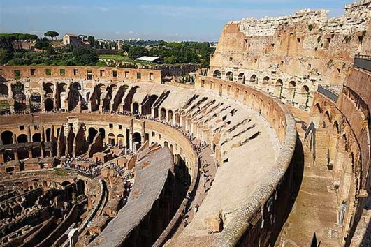 Top Floors of Colosseum