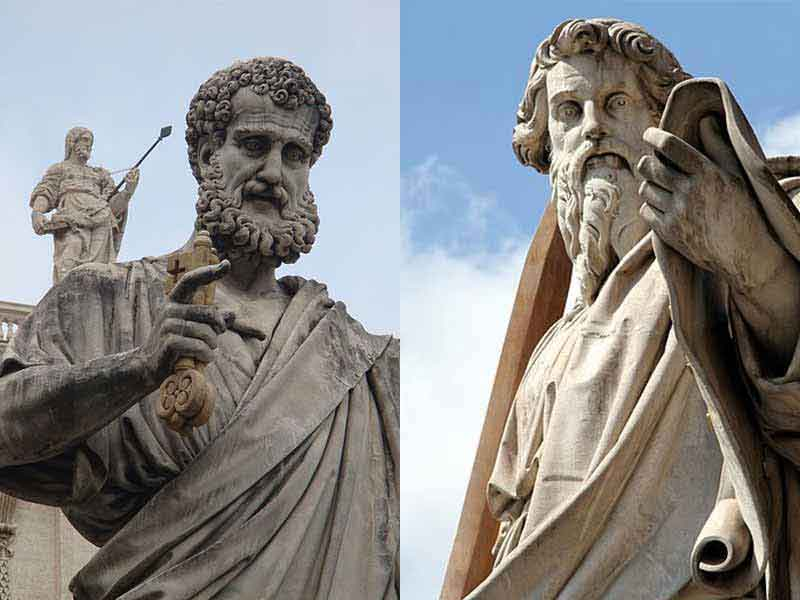 saint peter and saint paul rome