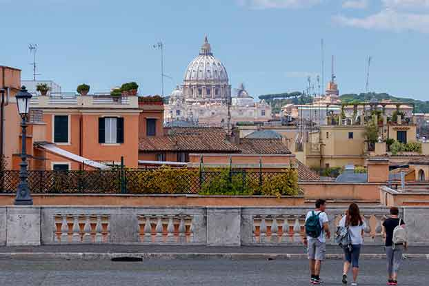 rome morning walking tour
