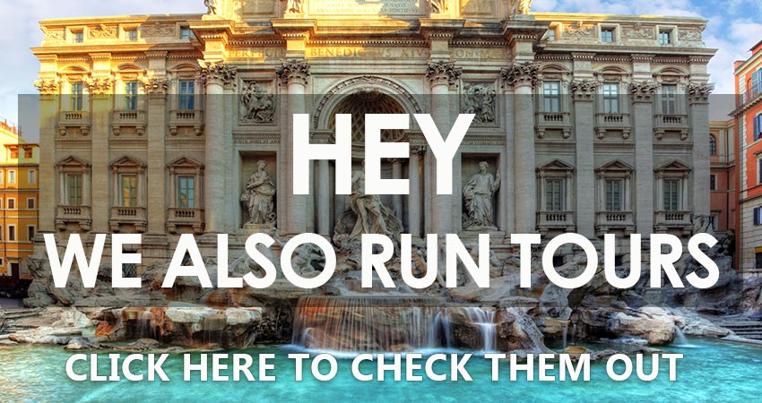 tours of rome in english