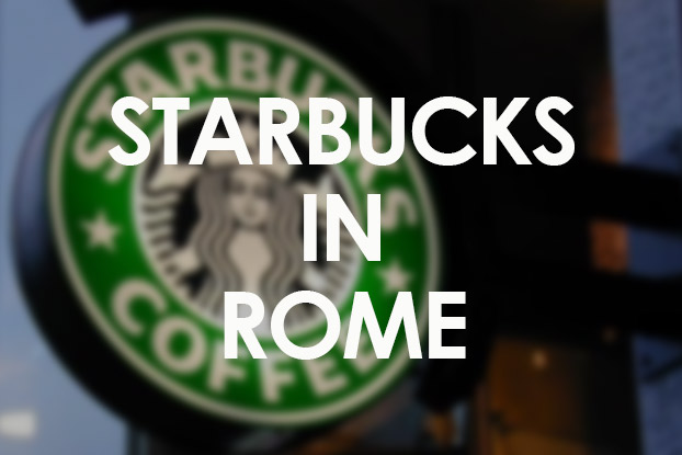 starbucks in rome