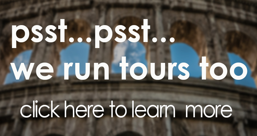 book tours in rome