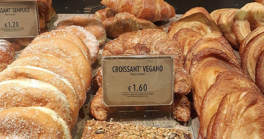 vegan cornetto in rome