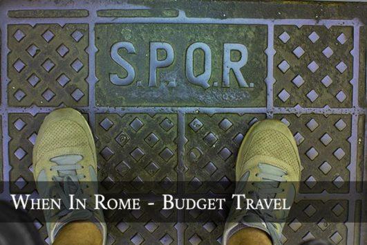 Rome Budget Travel Webinar