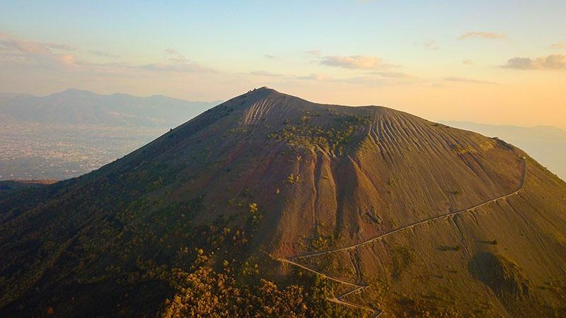 vesuvius - italy's most famous volcano